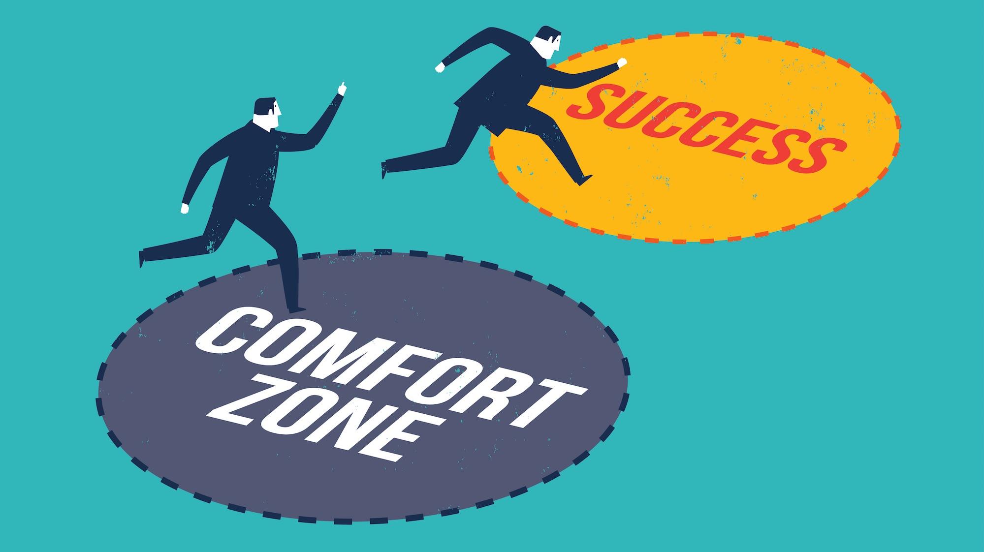comfort zone là gì