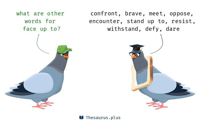 Face Up là gì và cấu trúc cụm từ Face Up trong câu Tiếng Anh